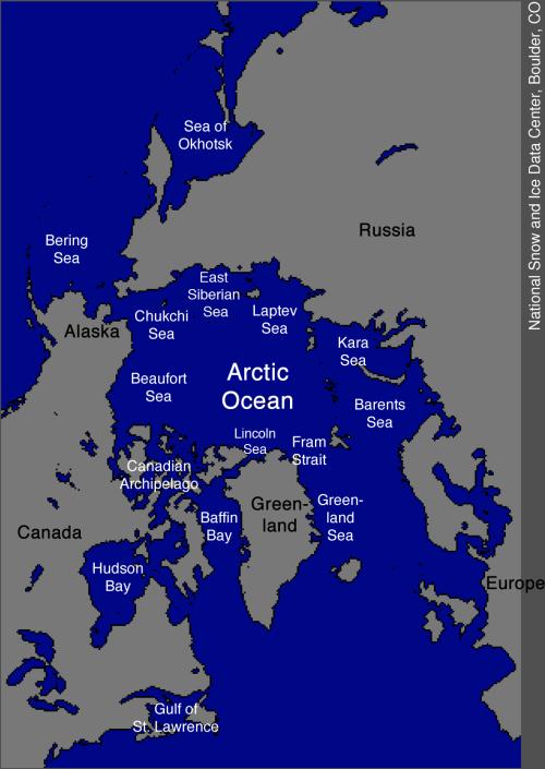 NSIDC_Arctic_Regions