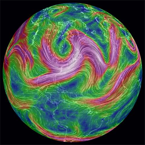 Afbeeldingsresultaat voor straalstroom earth.nullschool.net