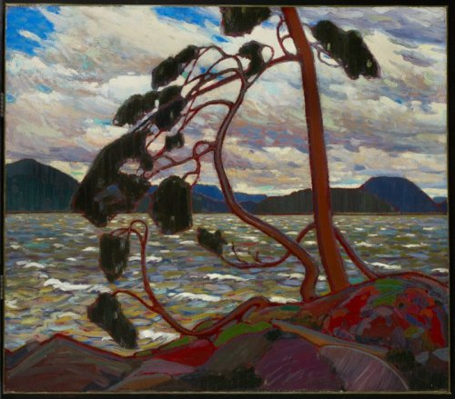 The West Wind van Tom Thomson